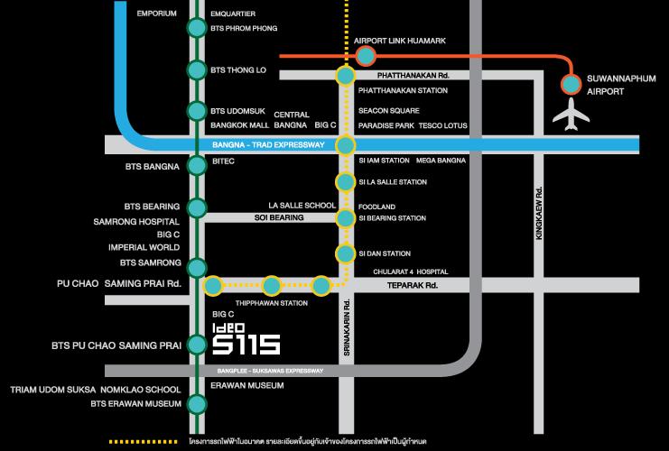 Globalhome_IDEO_sukhumvit115_map