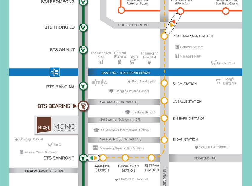 BTS Map (Niche Mono Bearing)