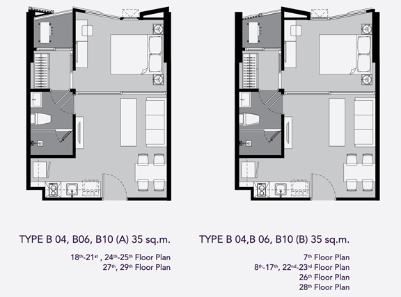 one bed B4(35)
