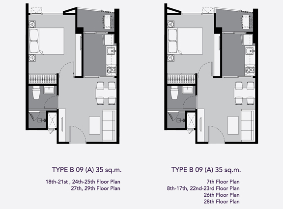 one bed B9(35)