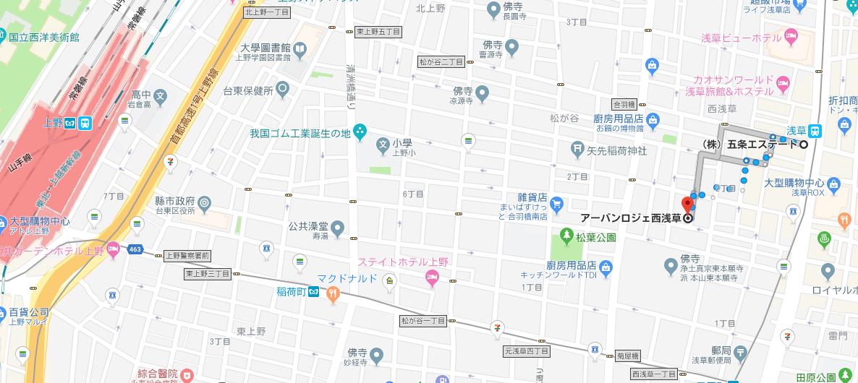 アーバンロジェ西浅草6