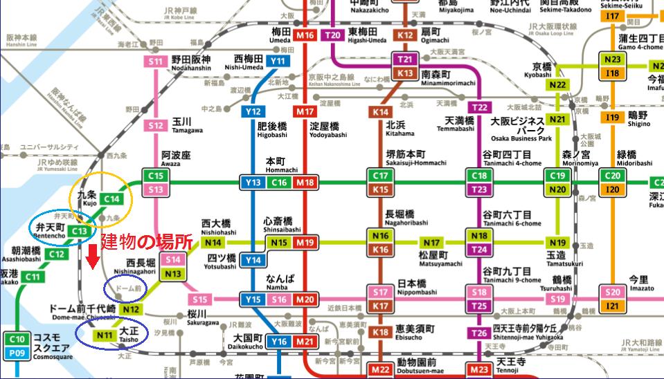 デ・リード弁天町港通-metro-1