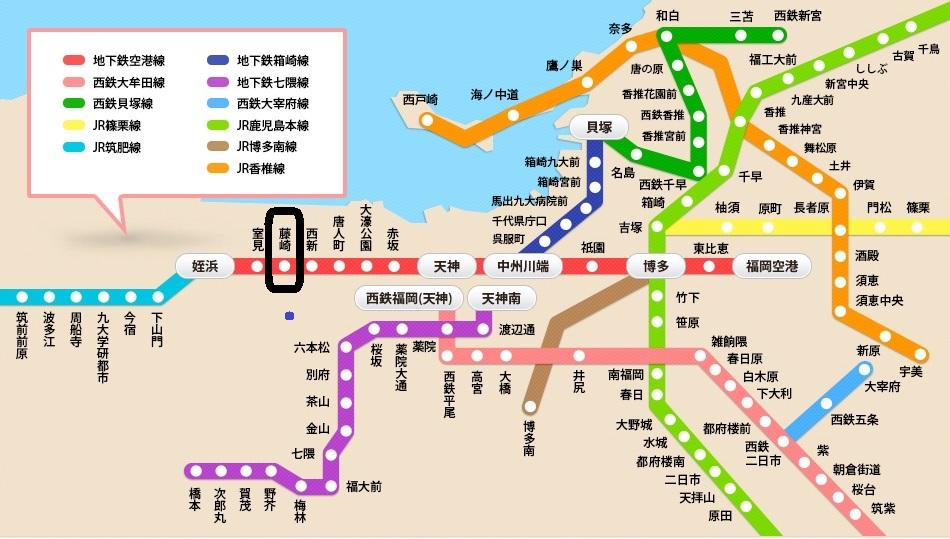 福岡地圖ラ・レジダンス・ド・高取