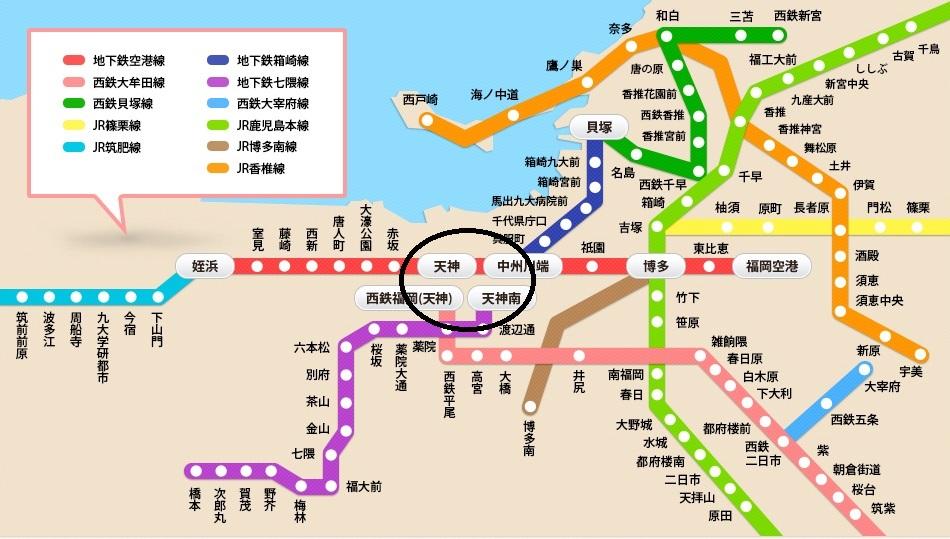 福岡地圖4