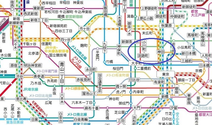 東京地圖 (1)