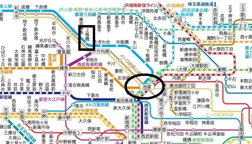 東京地圖 3