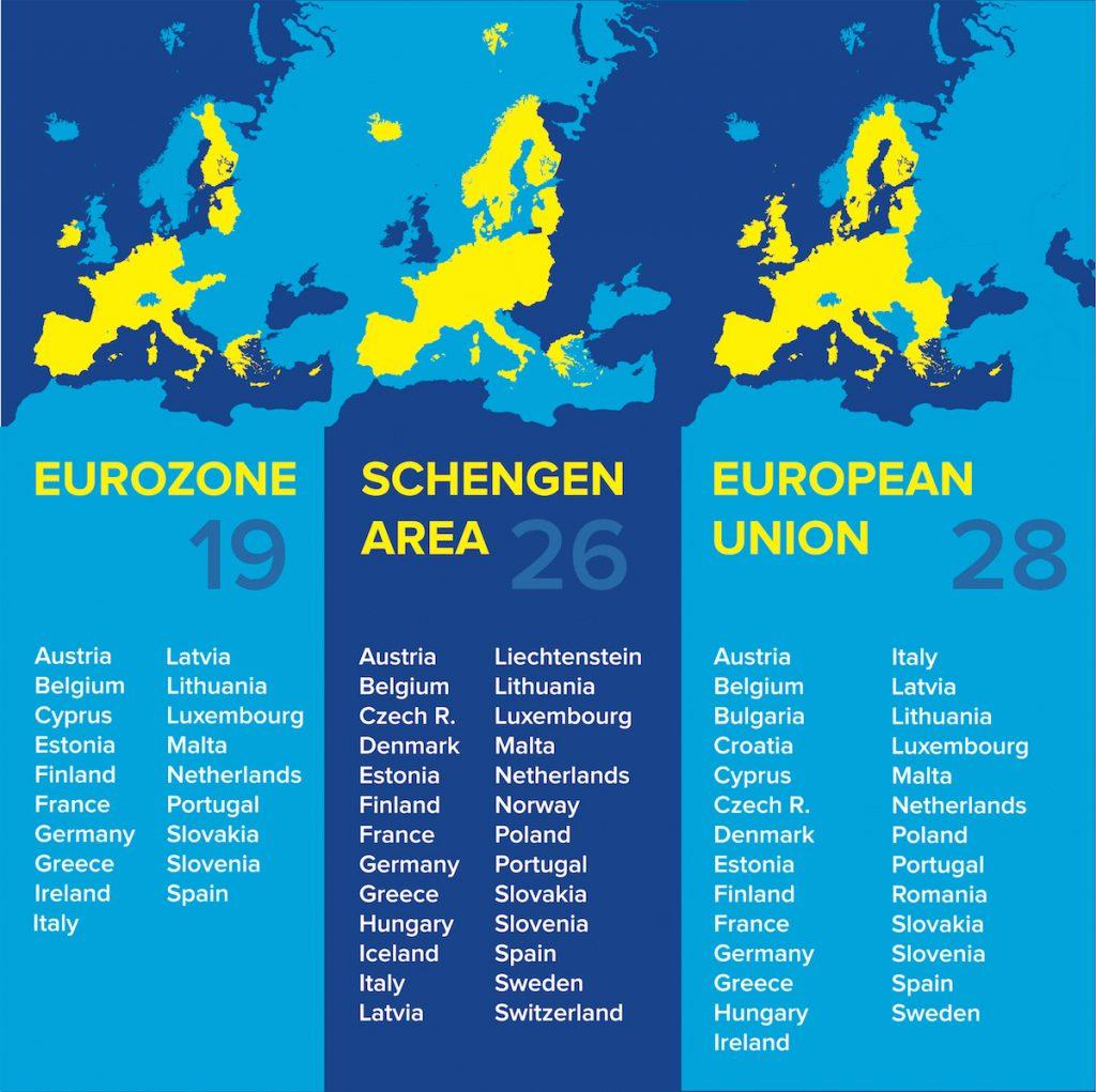 EU country map