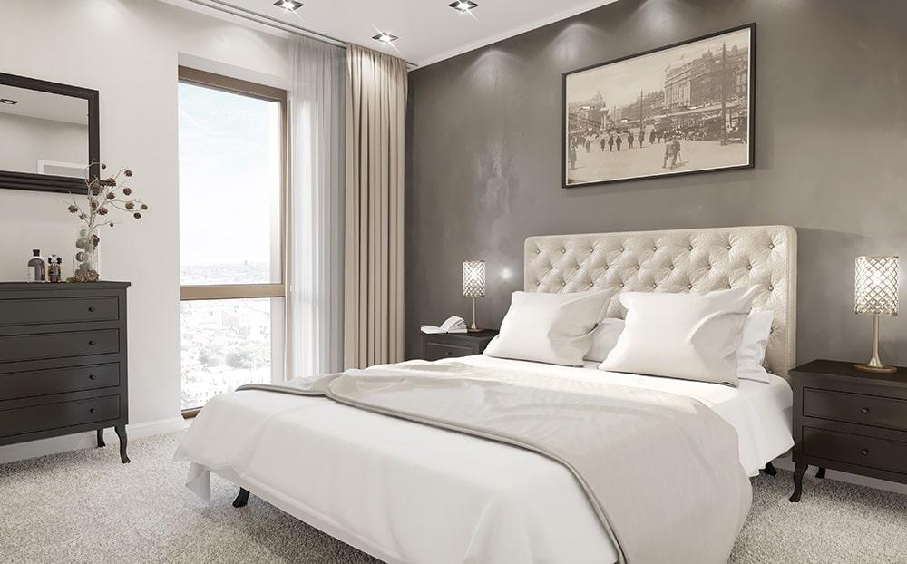 6Bridgewater Wharf - Apartment Master Bedroom-min